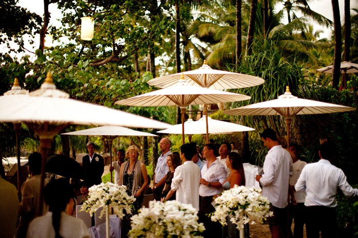 we all really loved the selection of accommodation you chose for us and our guests in the lead up to our wedding this and our thailand wedding venue were